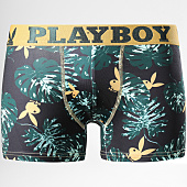 /achat-boxers/playboy-boxer-tropics-dore-vert-161964.html