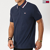 /achat-polos-manches-courtes/tommy-jeans-polo-manches-courtes-classics-stretch-5509-bleu-marine-162059.html