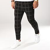 /achat-pantalons-carreaux/john-h-pantalon-carreaux-2299-noir-gris-162202.html