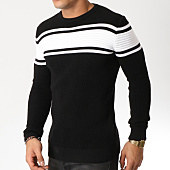/achat-pulls/john-h-pull-004-noir-blanc-162228.html