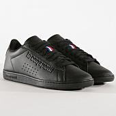 /achat-baskets-basses/le-coq-sportif-baskets-courtset-sport-1910581-triple-black-162210.html