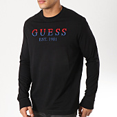 /achat-t-shirts-manches-longues/guess-tee-shirt-manches-longues-m91i24k84y0-noir-162307.html