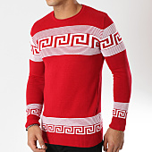 /achat-pulls/john-h-pull-001-rouge-blanc-162232.html