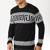 /achat-pulls/john-h-pull-42-noir-blanc-162241.html
