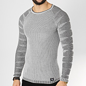 /achat-pulls/paname-brothers-pull-108-gris-clair-chine-162259.html