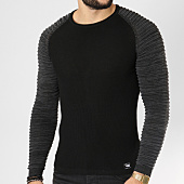 /achat-pulls/paname-brothers-pull-101-noir-gris-anthracite-162268.html