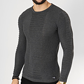 /achat-pulls/paname-brothers-pull-106-gris-anthracite-chine-162269.html