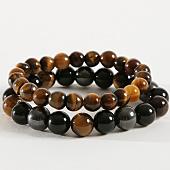 /achat-bracelets/california-jewels-lot-de-2-bracelets-b924-tigers-eye-natural-noir-marron-162376.html