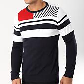 /achat-pulls/classic-series-pull-jony-bleu-marine-blanc-rouge-162506.html