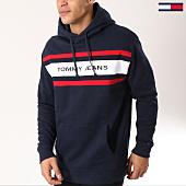 /achat-sweats-capuche/tommy-hilfiger-jeans-sweat-capuche-fleece-5535-bleu-marine-162489.html