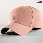 /achat-casquettes-de-baseball/tommy-hilfiger-jeans-casquette-femme-print-6181-rose-162571.html