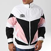 /achat-vestes/umbro-veste-zippee-heritage-689470-60-blanc-noir-rose-162553.html