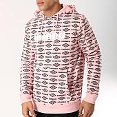 /achat-sweats-capuche/umbro-sweat-capuche-heritage-689440-60-rose-noir-162554.html