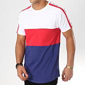 /achat-t-shirts-longs-oversize/304-clothing-tee-shirt-oversize-3-panel-avec-bandes-bleu-marine-blanc-rouge-162742.html