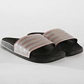 /achat-claquettes-sandales/adidas-claquettes-femme-adilette-comfort-b75679-noir-rose-argente-162796.html