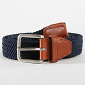 /achat-ceintures/jack-and-jones-ceinture-spring-woven-bleu-marine-marron-162683.html