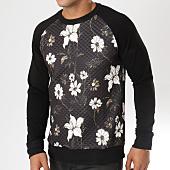 /achat-sweats-col-rond-crewneck/mtx-sweat-crewneck-tm0014-noir-floral-162746.html
