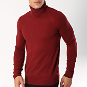 /achat-pulls/uniplay-pull-col-roule-ct003-bordeaux-162778.html