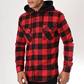 /achat-chemises-manches-longues/uniplay-chemise-manches-longues-sh-02-carreaux-rouge-noir-162782.html