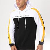 /achat-sweats-capuche/uniplay-sweat-capuche-avec-bandes-g033-noir-blanc-162792.html