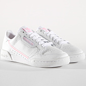 /achat-baskets-basses/adidas-baskets-femme-continental-80-g27722-footwear-white-true-pink-clear-pink-162918.html