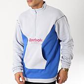 /achat-sweats-col-zippe/reebok-sweat-col-zippe-classic-r-dx0137-gris-bleu-162865.html