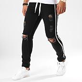 /achat-jeans/uniplay-jean-skinny-troue-avec-bandes-5009-noir-162824.html