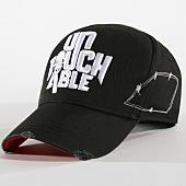 /achat-casquettes-de-baseball/untouchable-casquette-logo-noir-blanc-162872.html