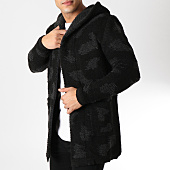/achat-cardigans-gilets/ikao-gilet-capuche-f271-noir-camouflage-gris-163061.html