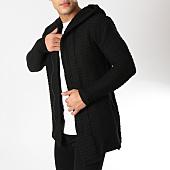 /achat-cardigans-gilets/ikao-gilet-zippe-capuche-f269-noir-163076.html