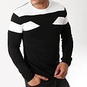 /achat-pulls/john-h-pull-38-noir-blanc-162994.html