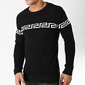 /achat-pulls/john-h-pull-018-noir-blanc-163008.html