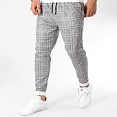 /achat-pantalons-carreaux/john-h-pantalon-carreaux-1258-noir-blanc-163018.html