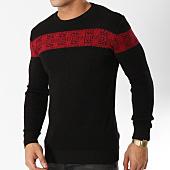 /achat-pulls/john-h-pull-016-noir-rouge-163041.html