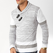 /achat-pulls/john-h-pull-col-amplified-jp-26-blanc-gris-chine-163043.html