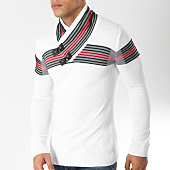 /achat-pulls/john-h-pull-col-amplified-24-blanc-163052.html