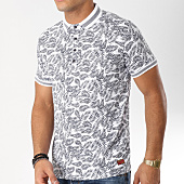 /achat-polos-manches-courtes/teddy-smith-polo-manches-courtes-percy-blanc-floral-bleu-marine-163091.html