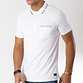 /achat-polos-manches-courtes/teddy-smith-polo-manches-courtes-pomro-blanc-163097.html
