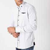 /achat-chemises-manches-longues/black-needle-chemise-manches-longues-3360-blanc-bleu-marine-163172.html