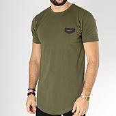 /achat-t-shirts-longs-oversize/gianni-kavanagh-tee-shirt-oversize-core-vert-kaki-163209.html