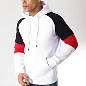 /achat-sweats-capuche/lbo-sweat-capuche-tricolore-564-blanc-rouge-bleu-163204.html