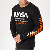 /achat-t-shirts-manches-longues/nasa-tee-shirt-manches-longues-admin-noir-orange-163193.html