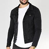 /achat-vestes-jean/grj-denim-veste-jean-13458-noir-163365.html