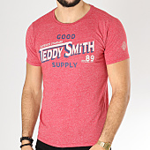 /achat-t-shirts/teddy-smith-tee-shirt-tid-rouge-chine-163274.html