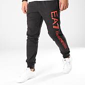 /achat-pantalons-joggings/ea7-pantalon-jogging-8nppc3-pj05z-noir-rouge-163552.html