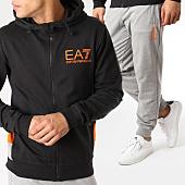 /achat-ensembles-survetement/ea7-ensemble-de-survetement-3gpv68-pj05z-noir-gris-chine-orange-163556.html