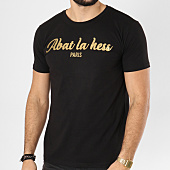 /achat-t-shirts/ohmondieusalva-tee-shirt-abat-la-hess-logo-noir-dore-163487.html