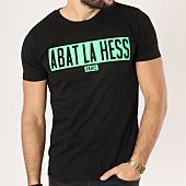 /achat-t-shirts/ohmondieusalva-tee-shirt-abat-la-hess-box-logo-noir-vert-163529.html