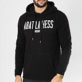 /achat-sweats-capuche/ohmondieusalva-sweat-capuche-abat-la-hess-logo-alternate-noir-blanc-163543.html