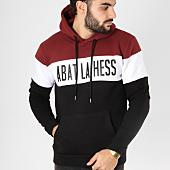 /achat-sweats-capuche/ohmondieusalva-sweat-capuche-abat-la-hess-logo-alternate-bordeaux-blanc-noir-163548.html